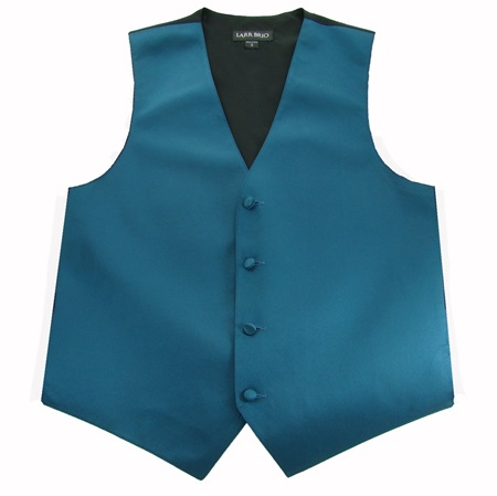 Picture of Simply Solid Peacock Vest