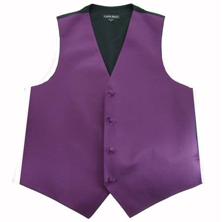 Picture of Simply Solid Aubergine Vest