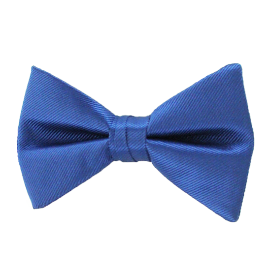 Picture of Simply Solid Sapphire Bow Tie