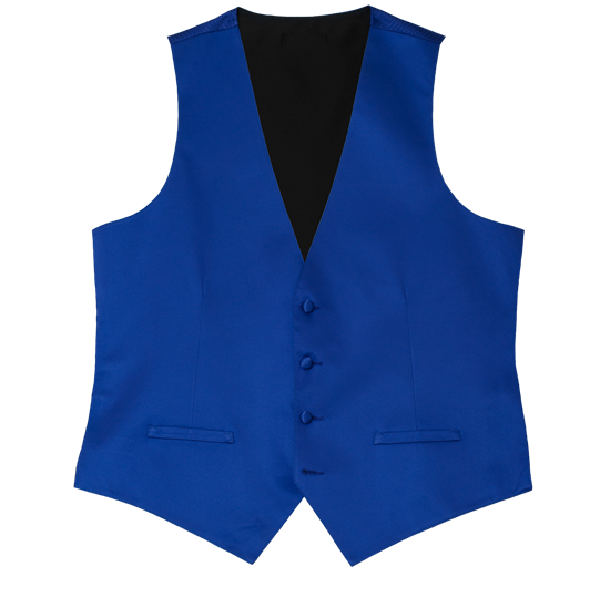 Picture of Modern Solid Blue/Violet Vest