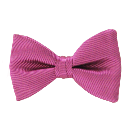 Picture of Simply Solid Fuchsia Bow Tie