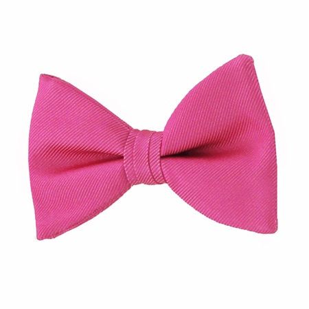 Picture of Simply Solid Bright Fuchsia Bow Tie