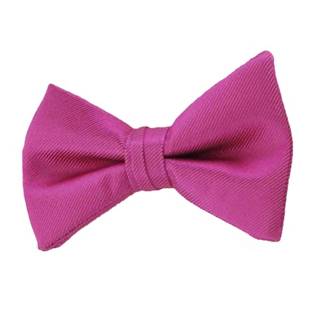Picture of Simply Solid Begonia Bow Tie