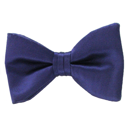 Picture of Simply Solid Grape Bow Tie