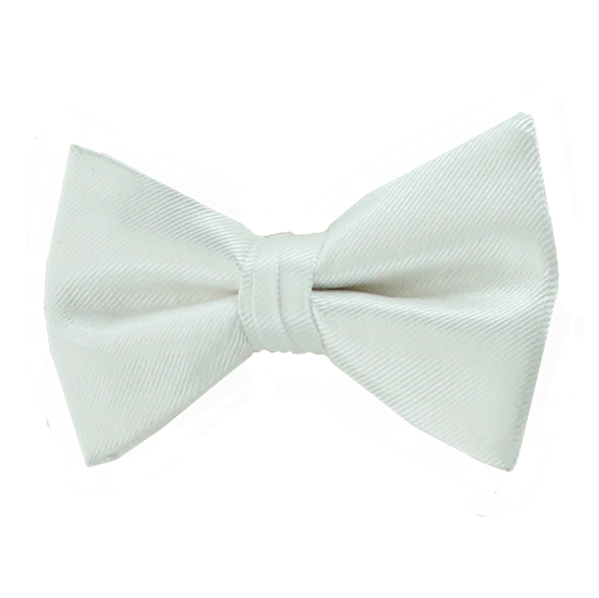 Picture of Simply Solid White Bow Tie