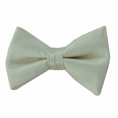 Picture of Simply Solid Ivory Bow Tie
