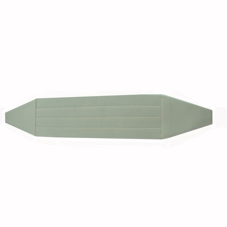 Picture of Simply Solid Ivory Cummerbund