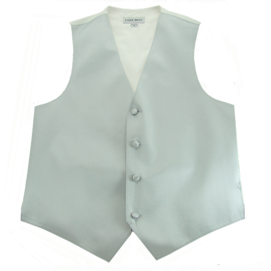 Picture of Simply Solid Light  Silver Vest