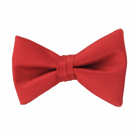 Picture of Simply Solid Ruby Bow Tie