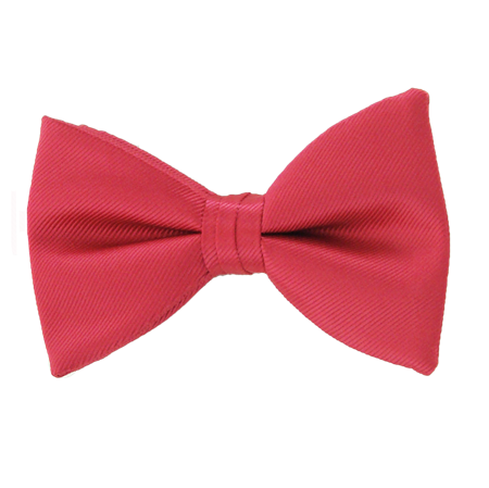Picture of Simply Solid Strawberry Bow Tie