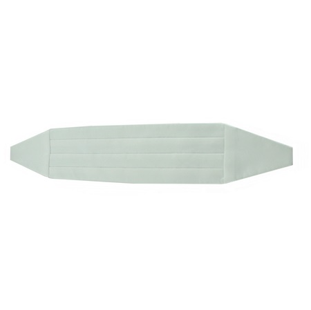 Picture of Simply Solid White Cummerbund