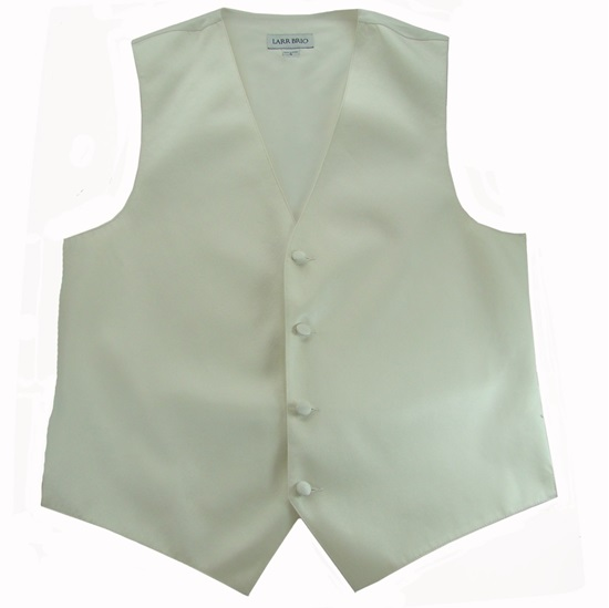 Picture of Simply Solid Ivory Vest