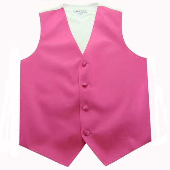 Picture of Simply Solid Bright Fuchsia Vest