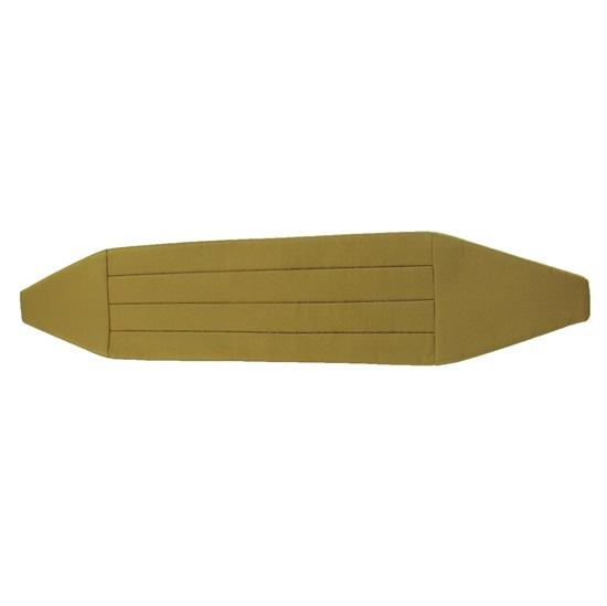 Picture of Simply Solid Midas Gold Cummerbund