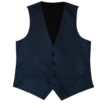 Picture of Modern Solid Dark Navy Vest