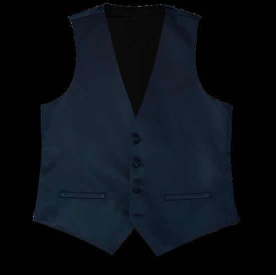 Picture of Modern Solid Dark Navy Vest