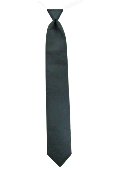 Picture of Simply Solid Black Windsor Tie