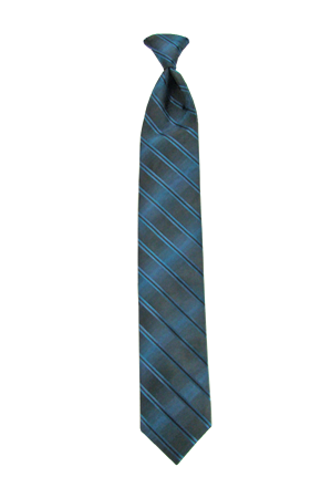 Picture of Double Ombre Peacock Windsor Tie