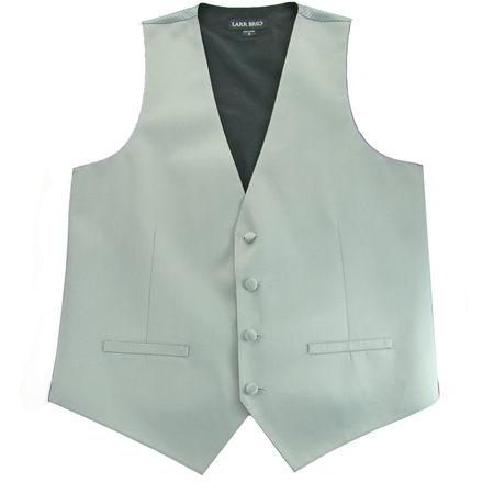 Picture of Modern Solid Platinum Vest