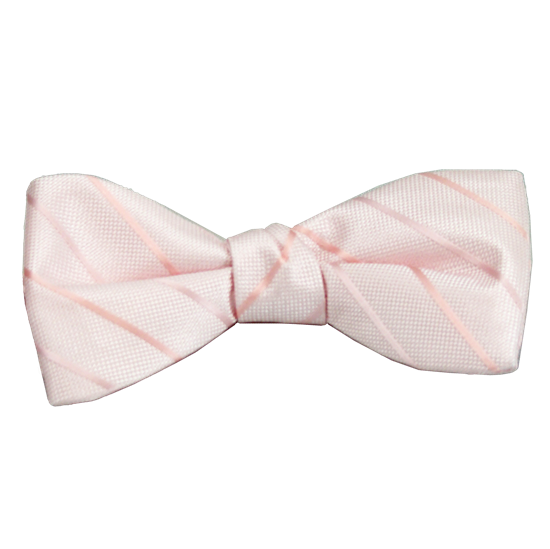 Picture of Modern Solid Pink Bow Tie