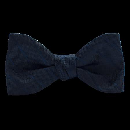 Picture of Modern Solid Dark Navy Bow Tie