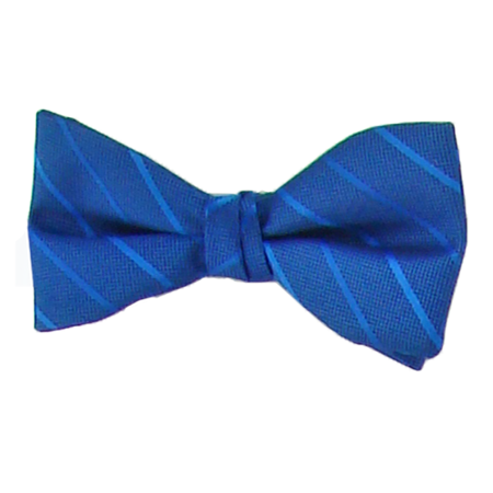 Picture of Modern Solid Royal Blue Bow Tie