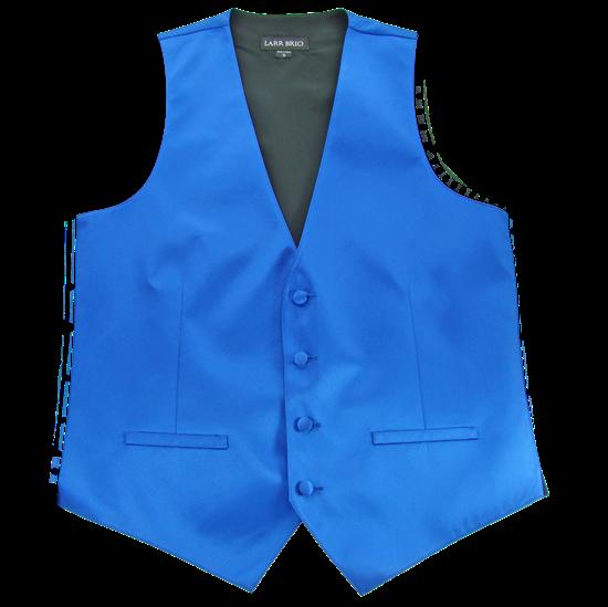Picture of Modern Solid Royal Blue Vest