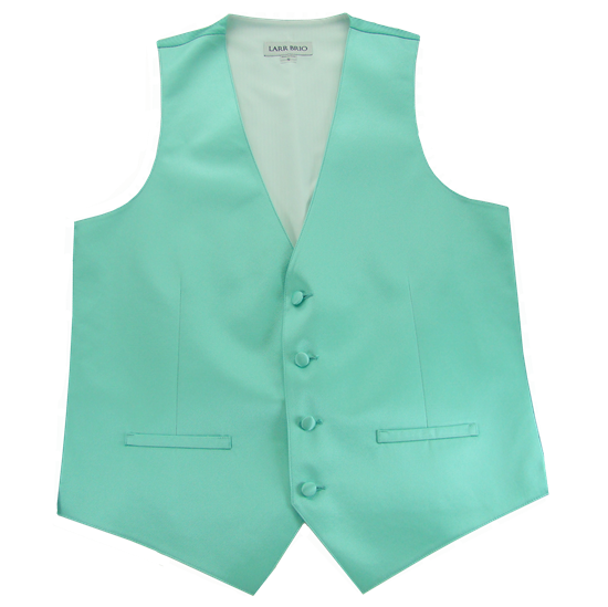 Picture of Modern Solid Mint Vest