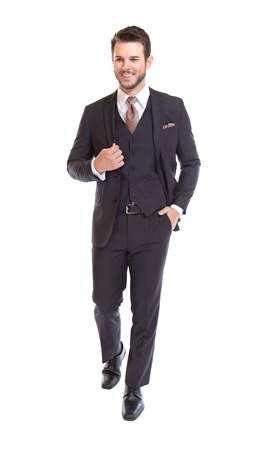 David Major Select Medium Grey Suit
