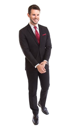 David Major Select Black Suit