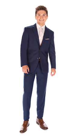 David Major Select French Blue Suit