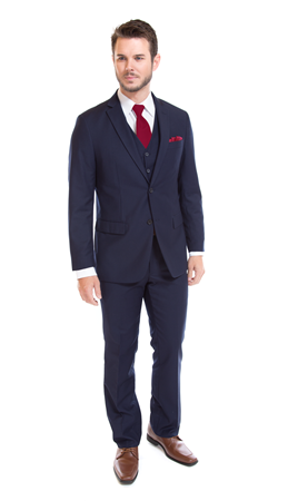 David Major Select Navy Suit